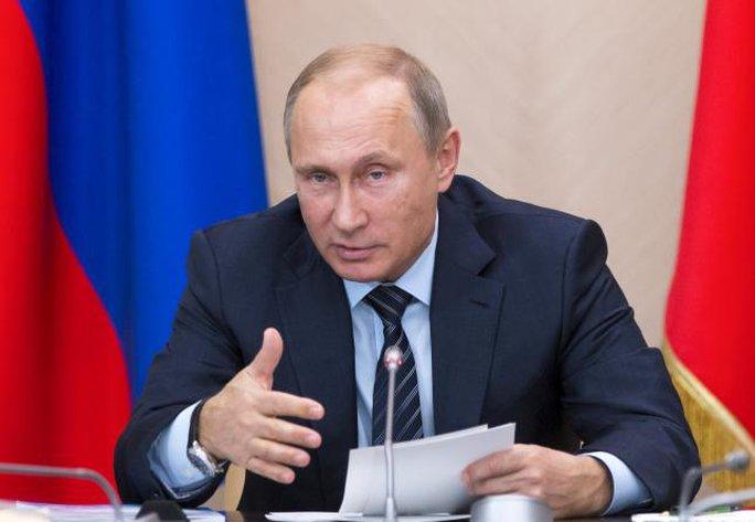 Tổng thống Nga Vladimir Putin. Ảnh: REUTERS