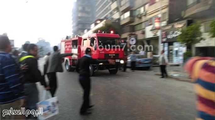Xe cứu hỏa mau chóng được triển khai Ảnh: News Youm777