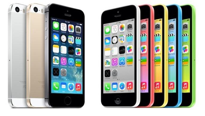 iPhone 5s và 5c đã ra mắt.
