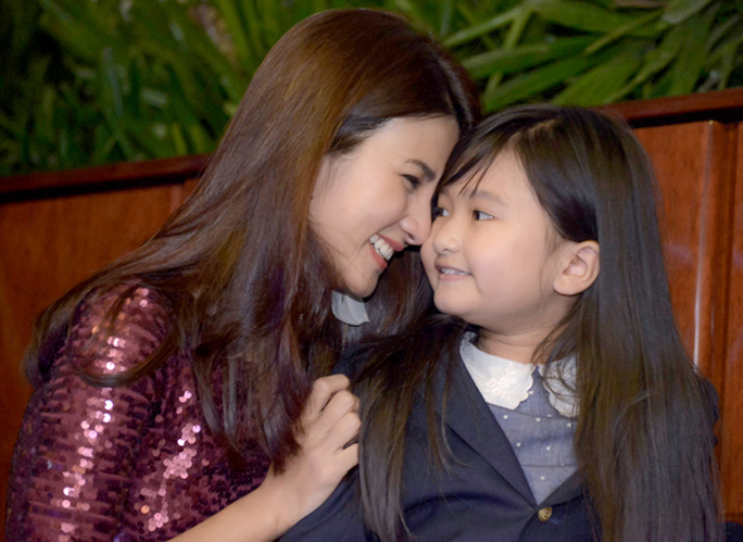 Kim Tuyến và con gái