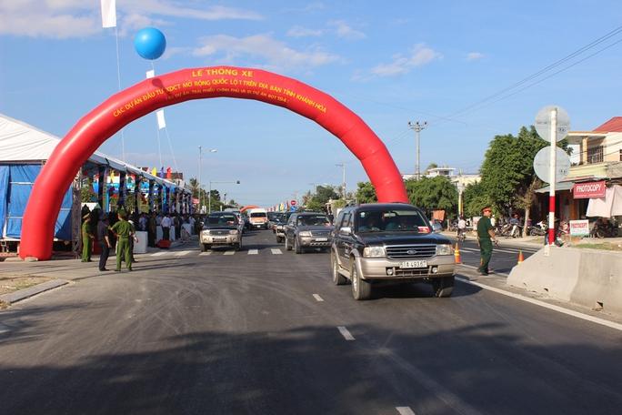 Thông xe toàn tuyến Quốc lộ 1 qua Khánh Hòa
