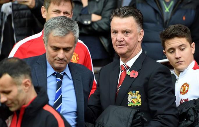 Mourinho sẽ là người thay thế Van Gaal ở M.U