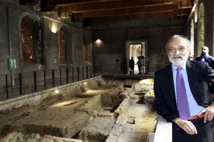 Chủ nhiệm Ủy ban Truyền bá Lịch sử và Di sản Văn hóa Ý Silvano Vinceti. Ảnh: The Time