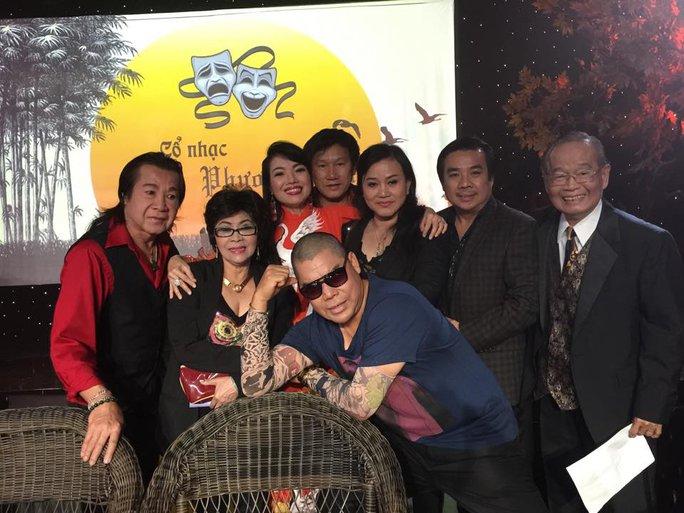 Các nghệ sĩ ở Mỹ trong chương trình Cổ nhạc phương Nam mừng giỗ Tổ và mừng thọ 88 tuổi của nghệ sĩ Văn Chung