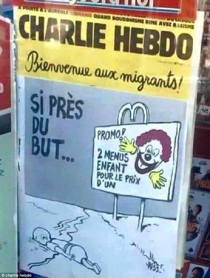 Ảnh: Charlie Hebdo