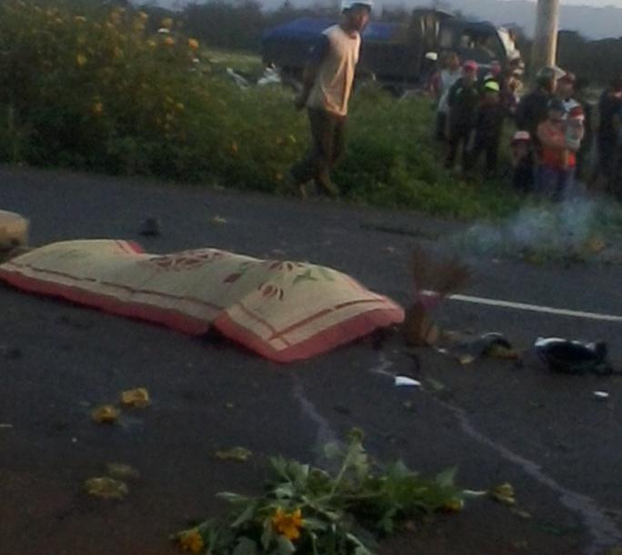Chị Tuyền bị xe bồn cán qua đầu tử vong tại chỗ