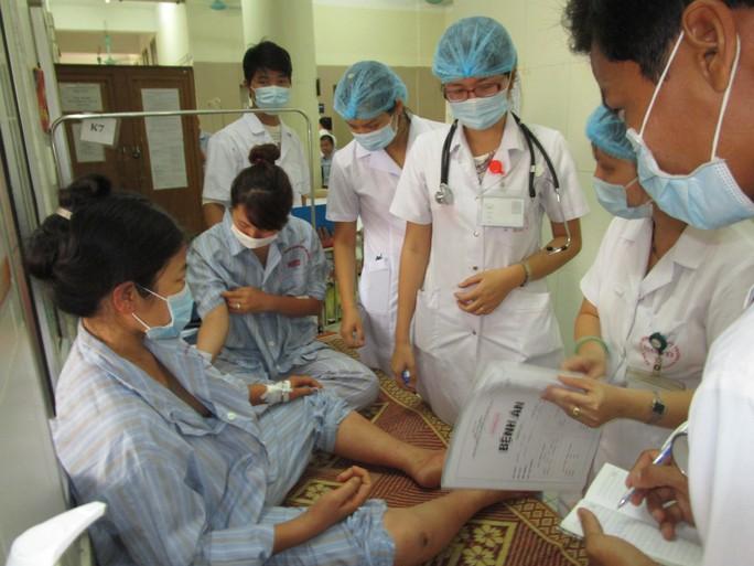 Bệnh viện Bệnh nhiệt đới trung ương đang quá tải bệnh nhân sốt xuất huyết