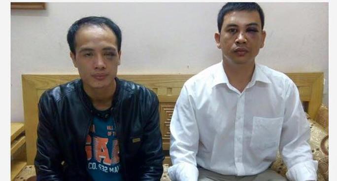 Hai luật sư bị hành hung muốn được gặp Giám đốc Công an Hà Nội để làm sáng tỏ vụ việc. (Ảnh từ Facebook của luật sư Nam)