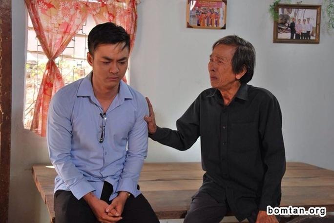 Thành Lũy trong vai ông Nhất của phim mặn hơn muối đang phát sóng trên HTV7. Ảnh: ĐPCC