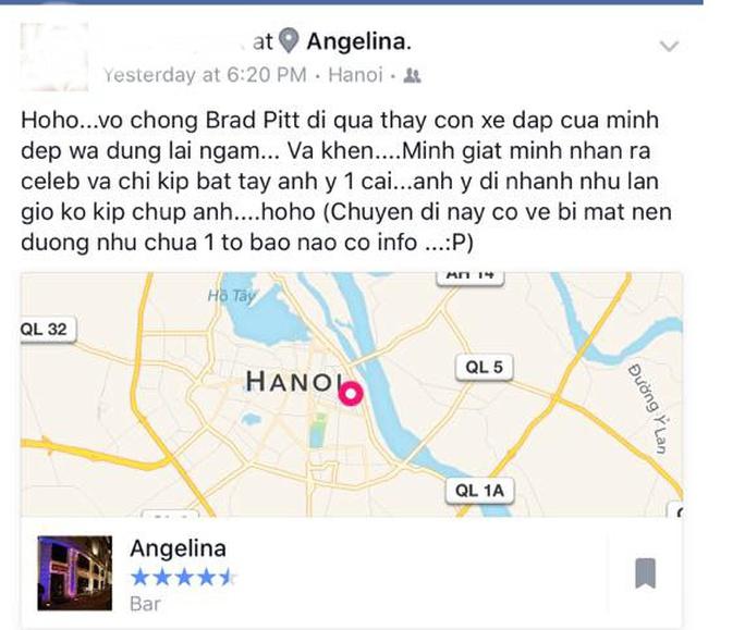 Bằng chứng Angelina Jolie - Brad Pitt bất ngờ du lịch tại Việt Nam
