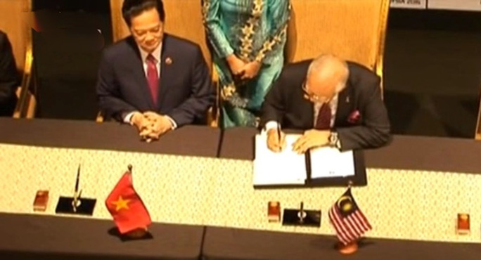 Chính thức ký kết Tuyên bố hình thành cộng đồng ASEAN - Ảnh chụp qua màn hình