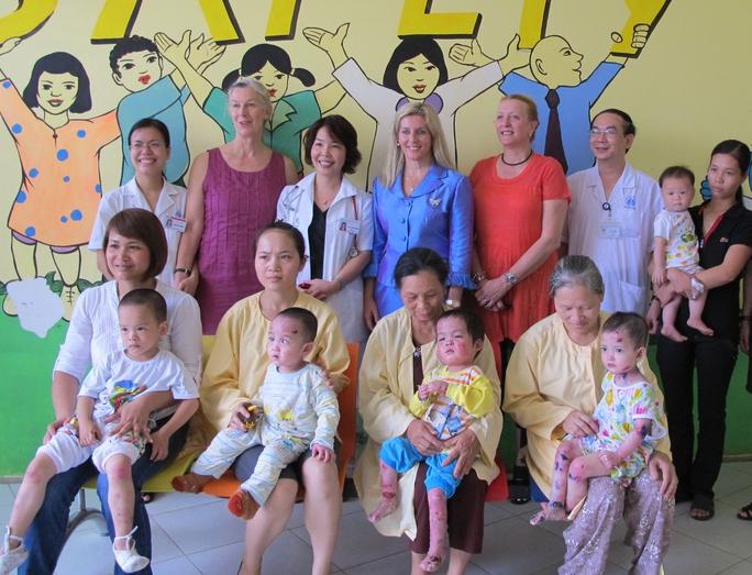 Câu lạc bộ bệnh nhi mắc các bệnh hiếm gặp giúp các bậc cha mẹ có thêm kinh nghiệm chăm sóc con trẻ