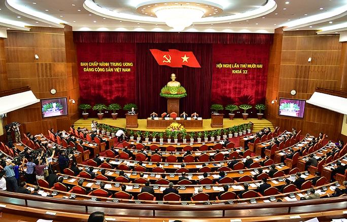 Toàn cảnh phiên khai mạc Hội nghị Trung ương lần thứ 12