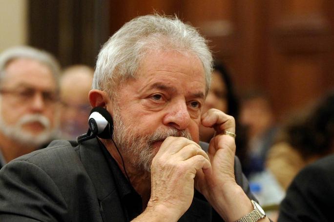 Cựu Tổng thống Brazil Luiz Inacio Lula da SilvaẢnh: AP