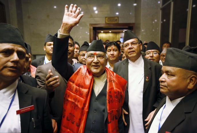 Tân Thủ tướng Nepal Khadga Prasad Sharma Oli Ảnh: Reuters