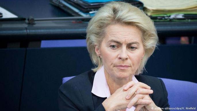 Bộ trưởng Quốc phòng Đức Ursula von der Leyen Ảnh: DPA