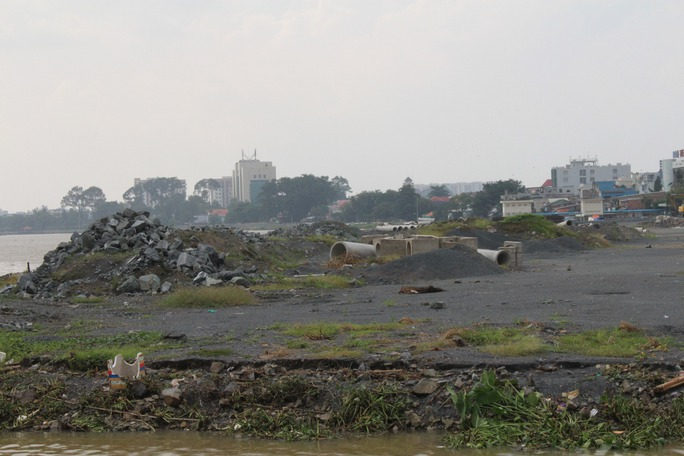 Dự án lấn sông Đồng Nai bị các nhà khoa học và người dân phản đối quyết liệt           Ảnh: XUÂN HOÀNG