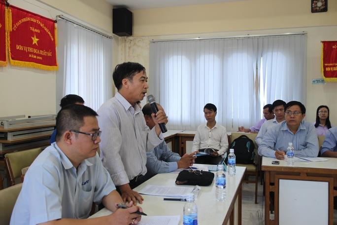 Đại biểu phát biểu ý kiến tại buổi tọa đàm