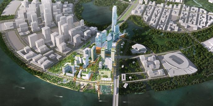 Quy hoạch tổng thể khu lõi trung tâm Khu đô thị mới Thủ Thiêm