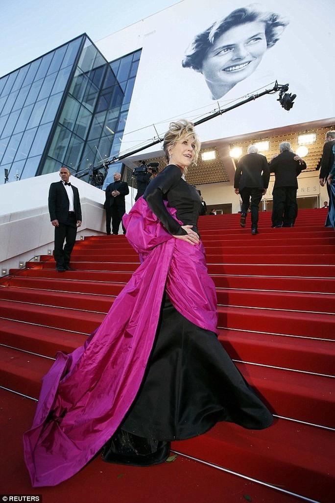 Jane Fonda tại Liên hoan phim Cannes