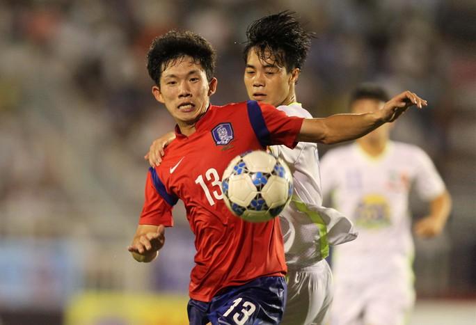 Nhỏ tuổi hơn nhưng U19 Hàn Quốc có nguồn thể lực rất tốt