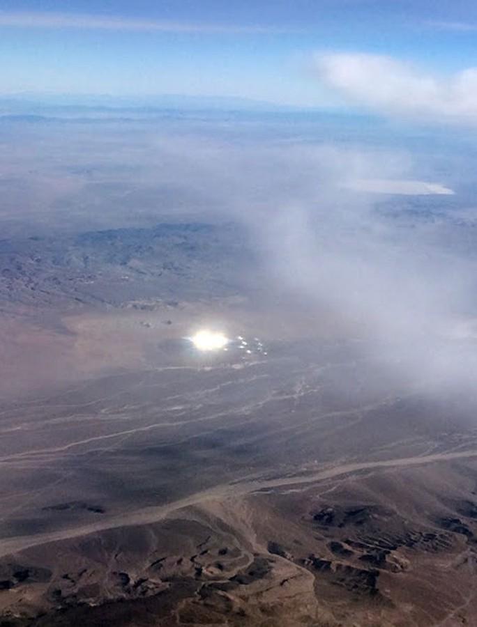 Phát hiện UFO ở gần Vùng 51 của Mỹ?