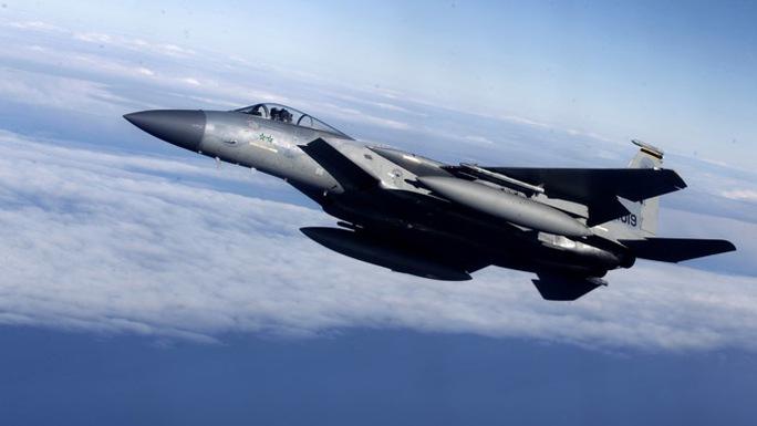 Chiến đấu cơ F-15 của Mỹ. Ảnh: Reuters