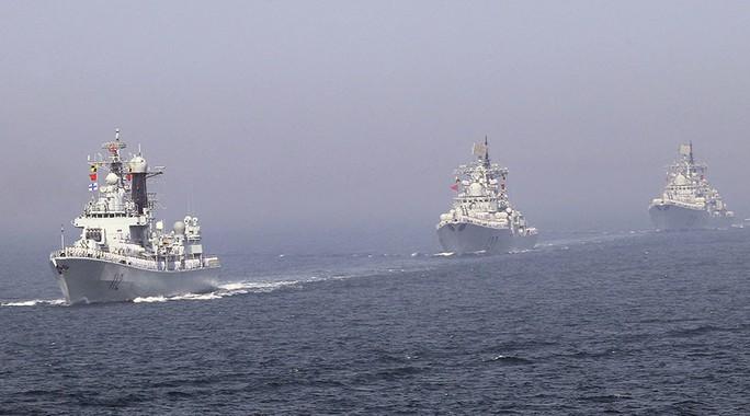 Trung Quốc sắp triển khai tàu khu trục tên lửa, tàu ngầm tập trận ở biển Đông. Ảnh: CHINA DAILY