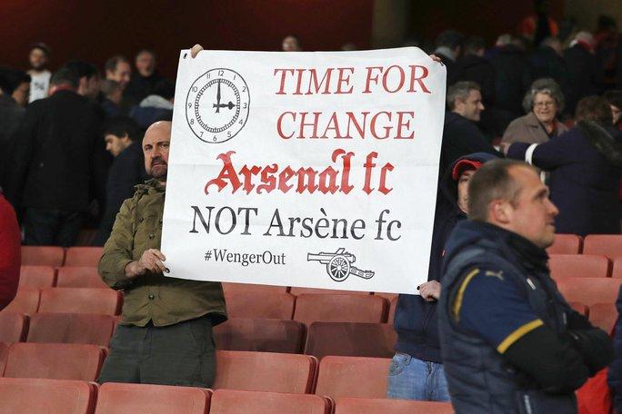 CĐV Arsenal lên kế hoạch phản đối HLV Wenger. Ảnh: Reuters
