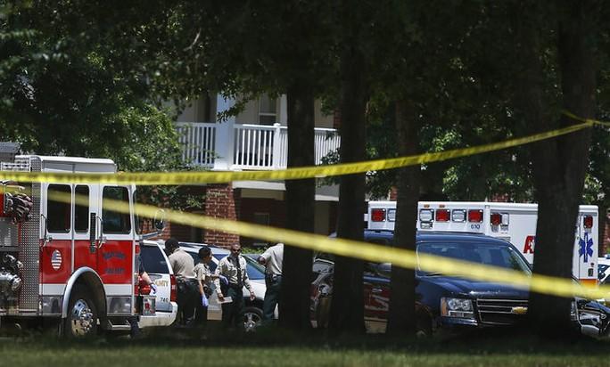 Hiện trường vụ mẹ đâm chết 4 con nhỏ. Ảnh: The Commercial Appeal