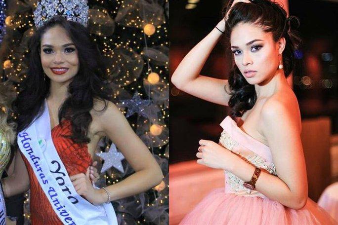 - Tân Hoa hậu Hoàn vũ Honduras Sirey Morán