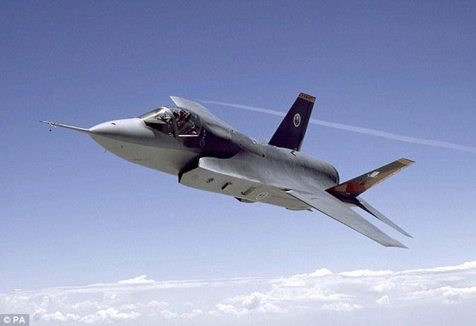 Máy bay tiêm kích tàng hình F-35 của Mỹ. Ảnh: PA
