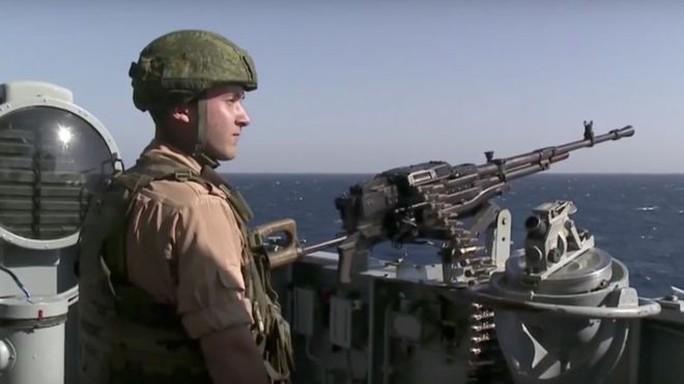Nga đã tăng cường sức mạnh quân sự trong bối cảnh các mối đe dọa mới ảnh hưởng đến an ninh quốc gia. Ảnh: AP