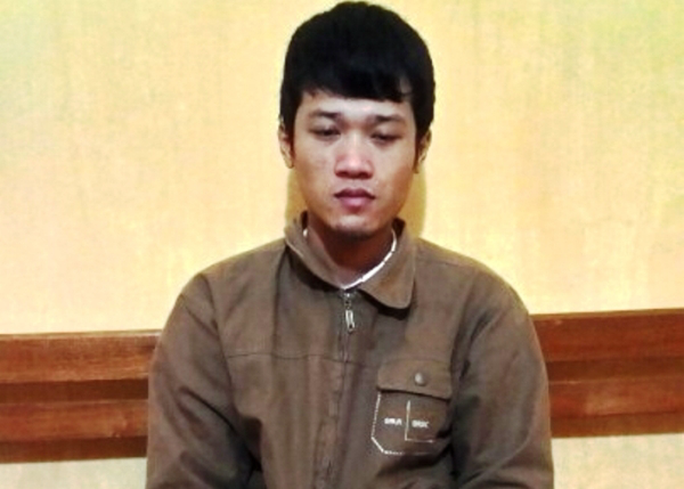Nghi can Nguyễn Xuân Lĩnh tại cơ quan điều tra