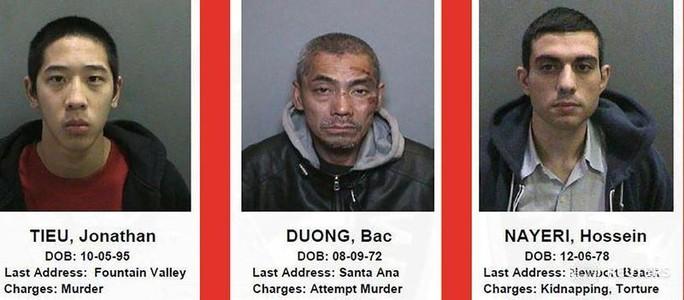 3 tù nhân vượt ngục đã bị bắt. Ảnh: Reuters