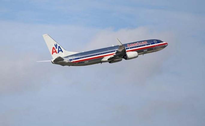 Máy bay của hãng hàng không American Airlines. Ảnh: The New York Times