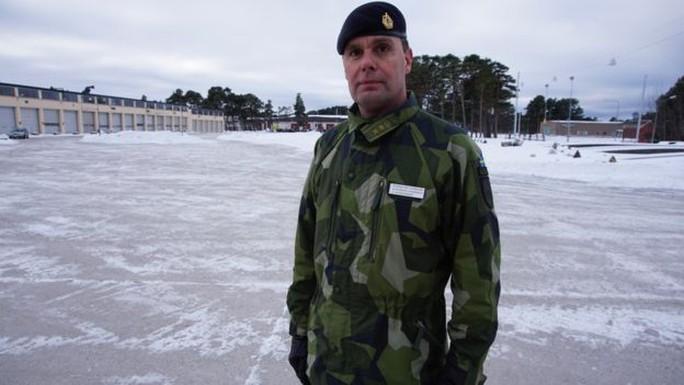 Trung tá Stefan Pettersson. Ảnh: BBC