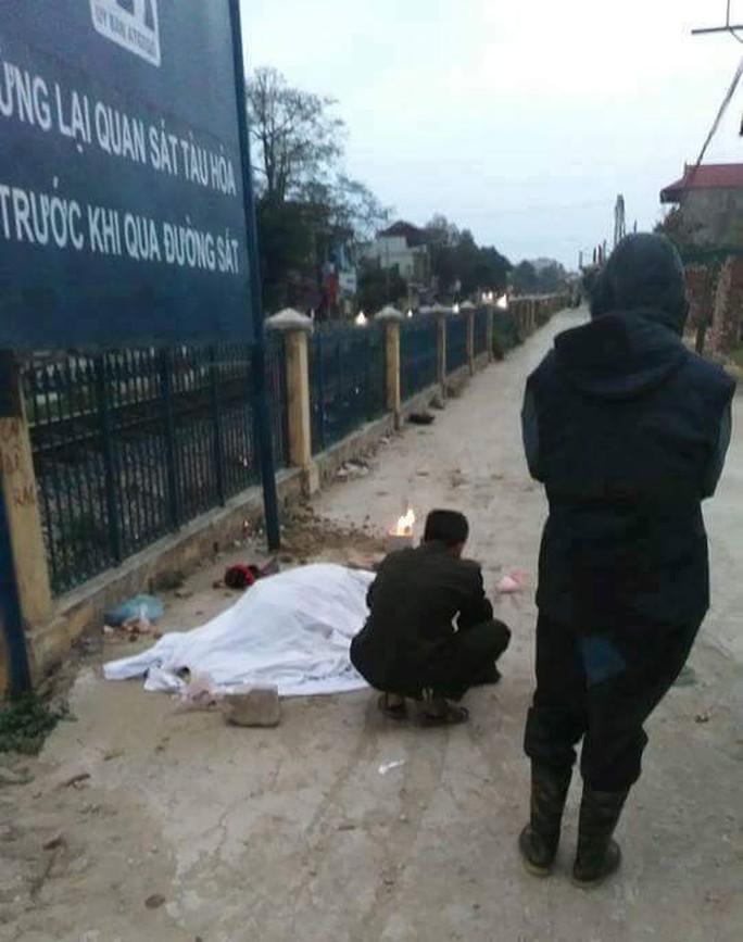 Bà Nguyễn Thị Lụa tử vong tại chỗ
