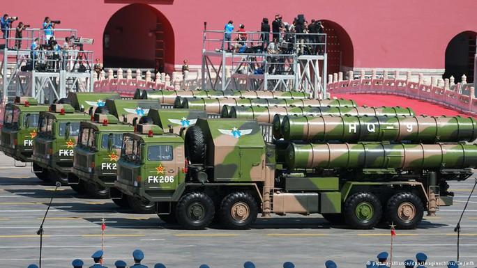 Hệ thống tên lửa HQ-9 của Trung Quốc. Ảnh: DPA