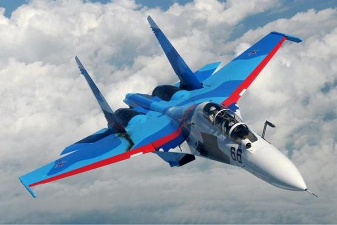 Một máy bay Su-30 của Không quân Nga. Ảnh: UPI