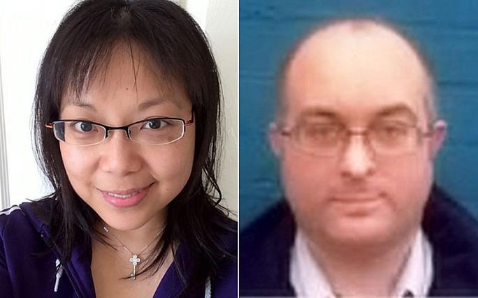 Bà Samantha Ho và ông Timothy Allen. Ảnh: SWNS