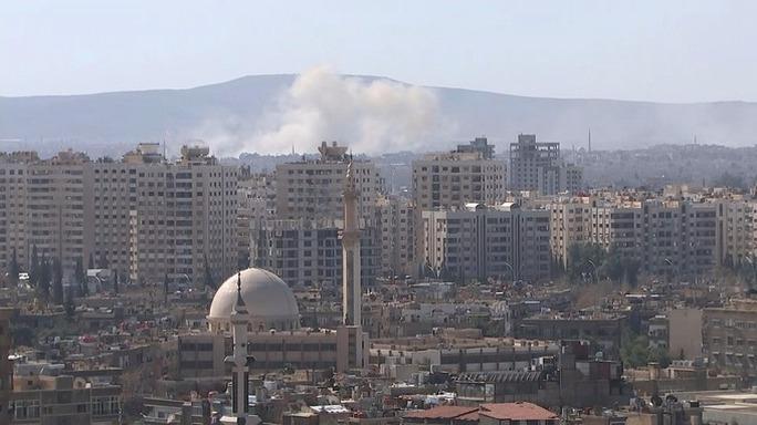 Hòa bình tạm lập lại ở Syria. Ảnh: Reuters