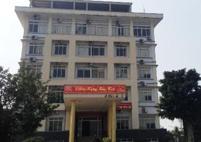 Sở Tài chính tỉnh Thanh Hóa - nơi 2 mẹ con bà Đinh Cẩm Vân và Lê Cẩm Nhung đang công tác