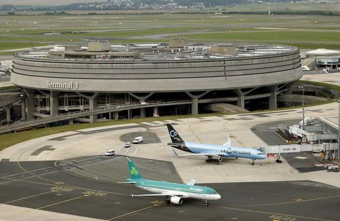 Sân bay quốc tế Charles de Gaulle ở thị trấn Roissy. Ảnh: Reuters