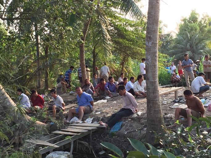 Trường gà của Tâm từng bị công an bắt vào tháng 1-2015 (ảnh tư liệu)