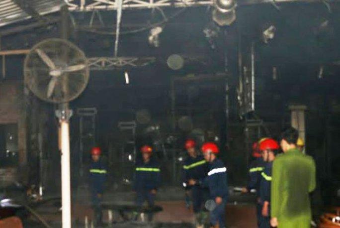 Quán cafe Cố Đô bị hỏa hoạn thiêu rụi trong đêm khuya
