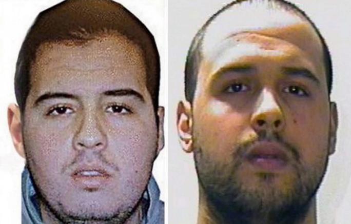 Hai anh em Ibrahim el-Bakraoui (trái) và Khalid el-Bakraoui. Ảnh: EPA