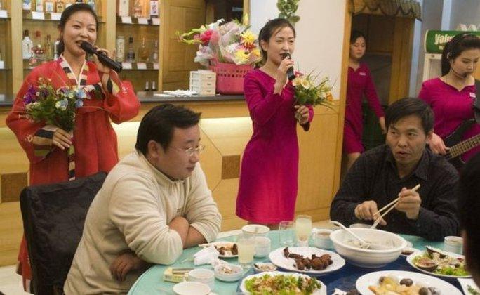 Nhà hàng Triều Tiên ở nước ngoài. Ảnh: AP