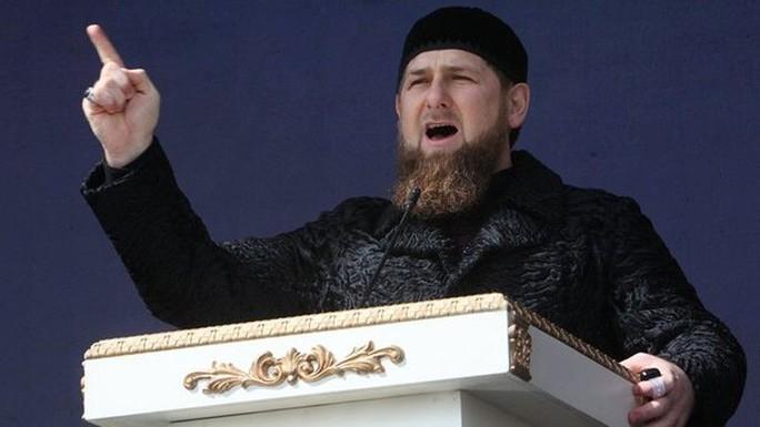 Ramzan Kadyrov - lãnh đạo của Cộng hòa Chechnya. Ảnh: AP