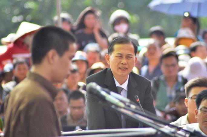 Luật sư Lê Văn Nam - người bào chữa cho bị cáo Vũ Văn Tiến.